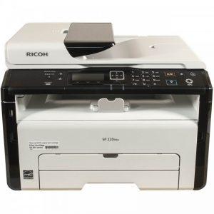 پرینتر چندکاره لیزری ریکو مدل SP 220SNw Ricoh SP 220SNw Multifunction Laser Printer