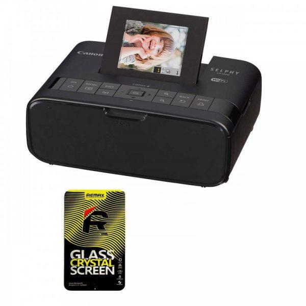 پرینتر چاپ عکس بی سیم کانن مدل SELPHY CP1200 به همراه 1 عدد محافظ صفحه نمایش Canon SELPHY CP1200 Wireless Photo Printer With1 Sc