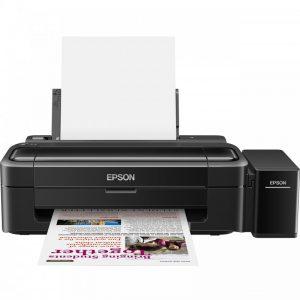پرینتر جوهر افشان رنگی اپسون مدل L310Epson L310 Inkjet Printer