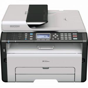 پرینتر چندکاره لیزری ریکو مدل SP 213SFNw Ricoh SP 213SFNw Multifunctional Laser Printer