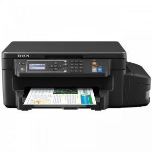 پرینتر چندکاره جوهرافشان اپسون مدل L605 Epson L605 Multifunction Inkjet Printer