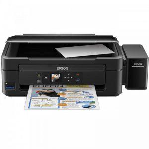 پرینتر چندکاره جوهرافشان اپسون مدل L486 Epson L486 Multifunction Inkjet Printer