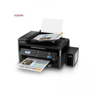 پرینتر جوهر افشان چندکاره اپسون مدل L565 Epson L565 Multifunction Inkjet Printer