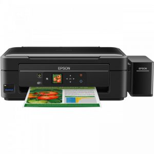 پرینتر چندکاره جوهرافشان اپسون مدل L455 Epson L455 Multifunction Inkjet Printer