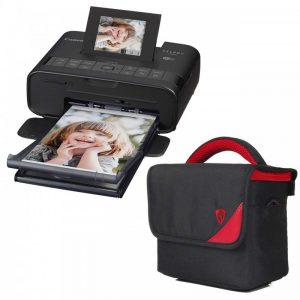 پرینتر چاپ عکس بی سیم کانن مدل SELPHY CP1200 به همراه ۱ عدد کیف Canon SELPHY CP1200 Wireless Photo Printer With1 bag