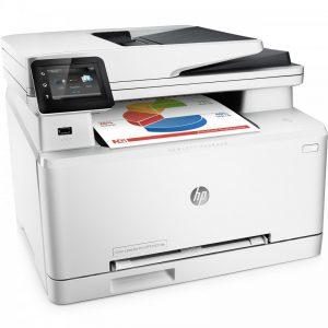 پرینتر چندکاره لیزری رنگی اچ پی مدل LaserJet Pro MFP M277dw HP LaserJet Pro MFP M277dw Multifunction Color Laser Printer