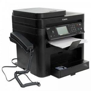 پرینتر چندکاره لیزری کانن مدل i-Sensys MF237w با گوشی اورجینال Canon i-Sensys MF237w laser multifunction laser printer with orig