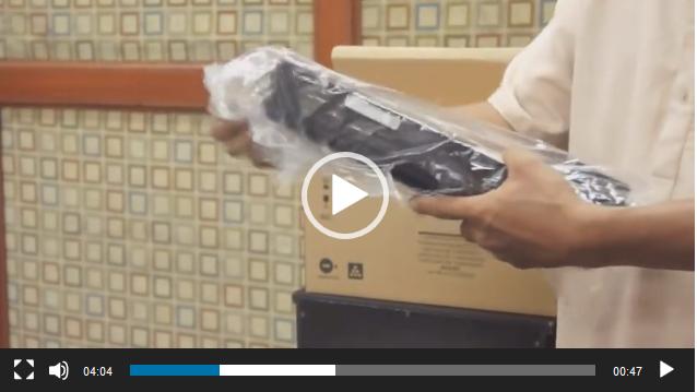 cartridge - نحوه قرار دادن و جابجایی کارتریج تونر شارپ