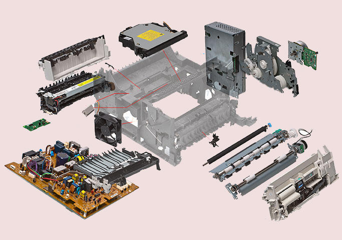 1 1 - قیمت و خرید قطعات یدکی پرینتر اچ پی HP