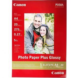 کاغذ عکس کانن مدل PLUS GLOSSY سایزA4 بسته ۲۰ عددی