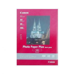 کاغذ عکس کانن مدل PHOTO PAPER PLUS SEMI-GLOSS سایز A4 بسته ۲۰ عددی