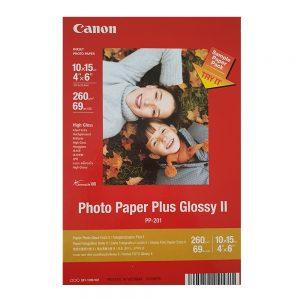 کاغذ چاپ عکس گلاسه کانن مدل JGTs4 سایز ۱۵×۱۰ سانتی متر بسته ۳ عددی