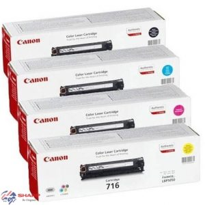 کارتریج تونر کانن چهار رنگ Canon 716