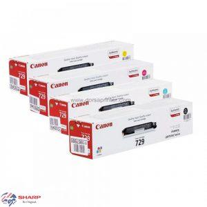 کارتریج تونر کانن چهار رنگ Canon 729