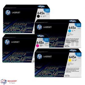 کارتریج تونر اچ پی چهار رنگ HP-645A (5500)
