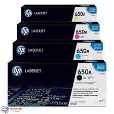 کارتریج تونر اچ پی چهار رنگ HP-650A (5525)