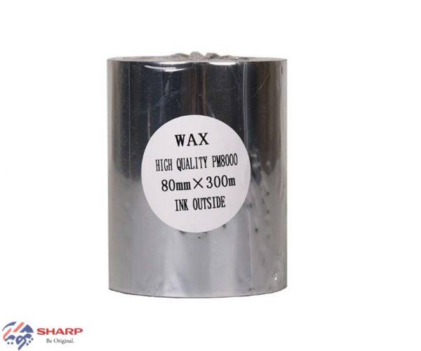 ریبون وکس/رزین Wax/Resin Ribbon 80*300