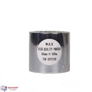 ریبون وکس/رزین Wax/Resin Ribbon 60*300